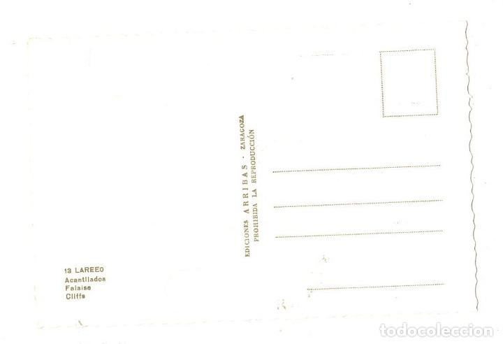 Postales: TARJETA POSTAL LAREDO. ACANTILADOS. Nº 13. EDICIONES ARRIBAS - Foto 2 - 188653650