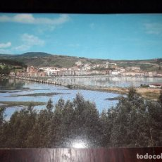 Postales: Nº 34202 POSTAL SAN VICENTE DE LA BARQUERA CANTABRIA PUENTE DE LA MAZA. Lote 189536555