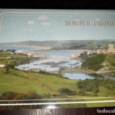 Postales: Nº 34205 POSTAL SAN VICENTE DE LA BARQUERA CANTABRIA PICO SANTILLAN. Lote 189536712