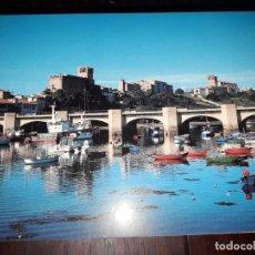 Postales: Nº 34206 POSTAL SAN VICENTE DE LA BARQUERA CANTABRIA VISTA GENERAL. Lote 189536775