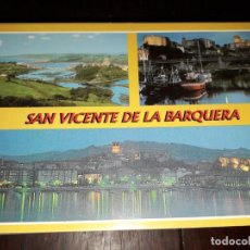 Postales: Nº 34207 POSTAL SAN VICENTE DE LA BARQUERA CANTABRIA . Lote 189536811