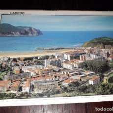 Postales: Nº 34273 POSTAL LAREDO CANTABRIA VISTA PARCIAL Y PUEBLA VIEJA. Lote 189543997
