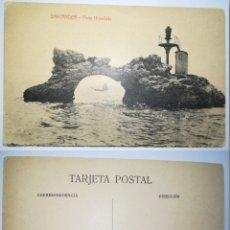 Postales: ESPAÑA SPAIN TARJETA POSTAL POSTCARD SANTANDER PEÑA HORADADA - FOTPIA. CASTAÑEDA ÁLVAREZ Y LEVENFEID. Lote 189724780