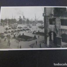 Postales: SANTANDER CORREOS Y EL PUERTO POSTAL FOTOGRAFICA HACI 1925-1930. Lote 190122786