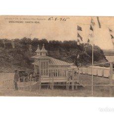 Postales: SANTANDER.(CANTABRIA).- SARDINERO. CASETA REAL. LIBRERIA VIUDA DE ALBIRA. . Lote 190558918