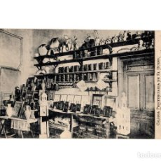 Postales: SANTOÑA.(CANTABRIA).- COLONIA PENITENCIARIA DE EL DUESO.(PRISIÓN) TALLER DE VACIADO Y GALVANOPLASTIA. Lote 190590821