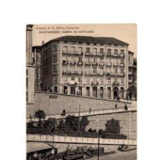 Postales: SANTANDER.(CANTABRIA).- RAMPA DE SOTILEZA.. Lote 190591083