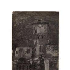 Postales: POTES.(CANTABRIA).- ESTATUA DE JESÚS DE MONASTERIO. POSTAL FOTOGRÁFICA.. Lote 190768958