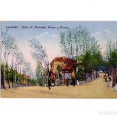Postales: SANTANDER.(CANTABRIA).- PASEO DE MENDEZ PELAYO Y PORRUA.. Lote 190775627