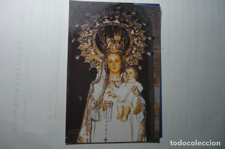 POSTAL COMILLAS.-NTRA.SRA. ROSARIO -PARROQUIA S.CRISTOBAL- DORSO ORACION (Postales - España - Cantabria Moderna (desde 1.940))