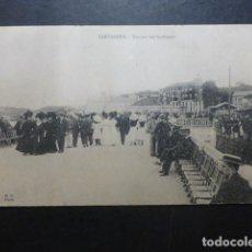 Postales: SANTANDER TERRAZA DEL SARDINERO. Lote 190809457
