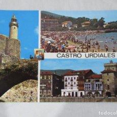 Postales: CASTRO URDIALES - DIVERSOS ASPECTOS - S/C. Lote 190854017