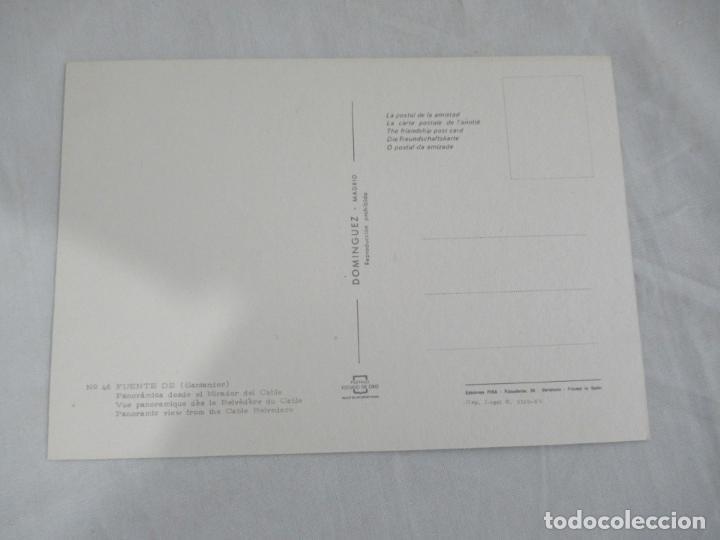 Postales: Fuente de (Santander) - Panorámica desde el Mirador del Cable - S/C - Foto 2 - 190856117