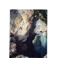 Postales: HOZNAYO.(CANTABRIA).- GRUTAS DEL DIABLO.. Lote 190867435