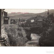 Postales: POTES.(CANTABRIA).- PUENTE DE SAN CAYETANO. POSTAL FOTOGRÁFICA.. Lote 191010830