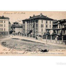 Postales: SANTANDER.(CANTABRIA).- SANATORIO MADRAZO.. Lote 191084390