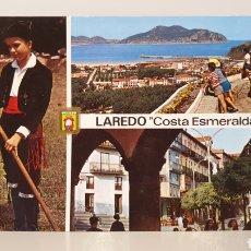 Postales: N°16 LAREDO/ CANTABRIA/ DIVERSOS ASPECTOS/ SIN CIRCULAR/ 10'5×15 / REF.A.38. Lote 191339107
