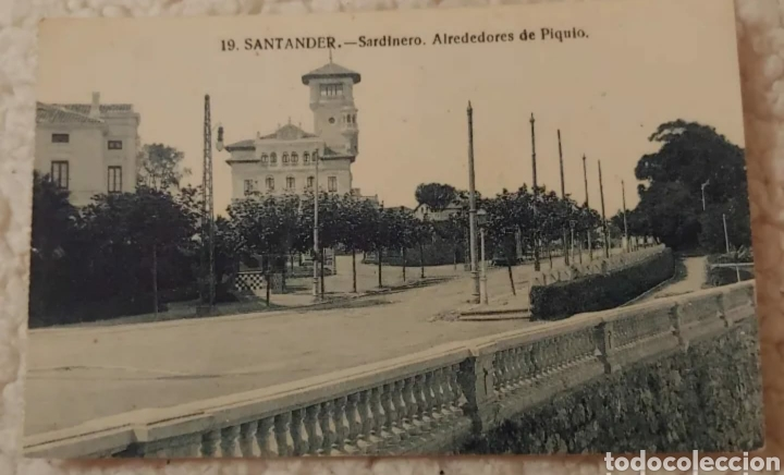 POSTAL 1966. SARDINERO, ALREDEDORES DE PIQUIO (Postales - España - Cantabria Moderna (desde 1.940))