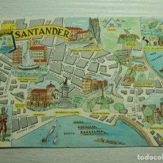 Cartes Postales: POSTAL DE SANTANDER, CIUDAD MONUMENTAL. Lote 191492231