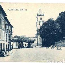 Cartes Postales: CANTABRIA COMILLAS EL CORRO. ED. GUTIÉRREZ Y SÁNCHEZ. FOTOTIPIA THOMAS. SIN CIRCULAR. Lote 191522366