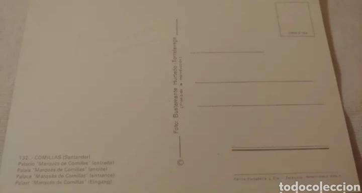 Postales: Postal Comillas Santander. Fotógrafo Bustamante Hurtado - Foto 2 - 191533243