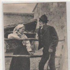 Postales: EL SABOR DE LA TIERRUCA POR J. G. DE LA PUENTE. 4 EN LA PORTILLERA. CANTABRIA. SANTANDER. . Lote 191605615