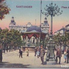 Postales: SANTANDER (CANTABRIA) - PLAZA DE LA LIBERTAD. Lote 191662737