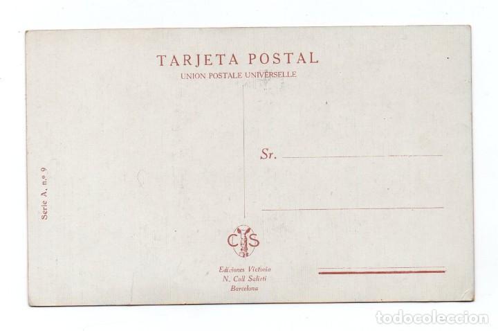 Postales: POSTAL DE AFLUENCIA AL SANTUARIO : LIMPIAS - SANTANDER - PROPIEDAD REGISTRADA - Foto 2 - 191732468