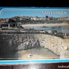 Postales: Nº 34827 POSTAL SANTANDER CANTABRIA PENINSULA DE LA MAGDALENA ZOO OSOS. Lote 191736677