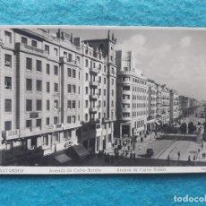 Postales: SANTANDER. AVENIDA DE CALVO SOTELO.. Lote 191914327