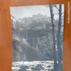 Postales: REGION DE LIEBANA Y LOS PICOS DE EUROPA POSTAL ORIGINAL ANTIGUA CIRCULADA CON SELLO. Lote 192134393