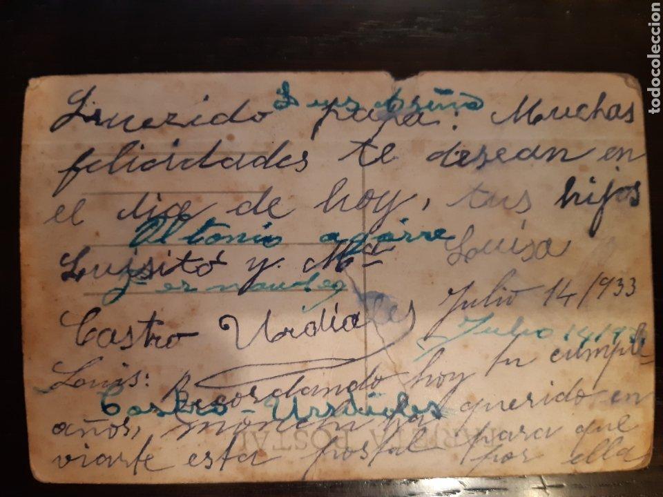 Postales: Postal Castro Urdiales paseo del parque años 20 - Foto 2 - 192597383