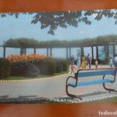 Postales: SANTANDER JARDINES DE PIQUIO POSTAL ORIGINAL CIRCULADA. Lote 192798450