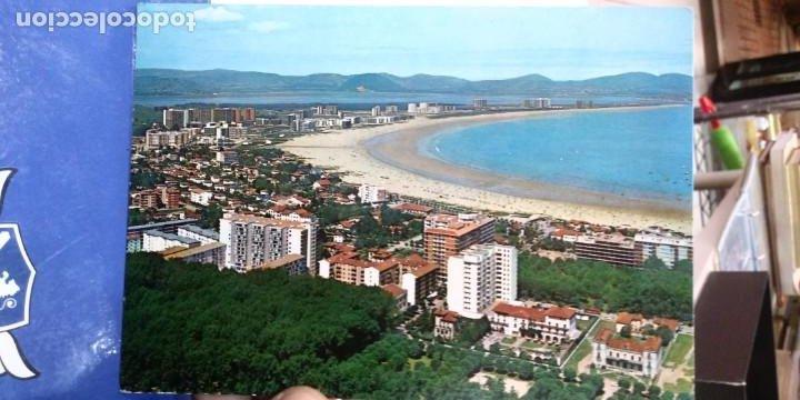 POSTAL LAREDO VISTA GENERAL DE LA PLAYA 1972 ESCRITA Y SELLADA N 14 ZPERLA (Postales - España - Cantabria Moderna (desde 1.940))
