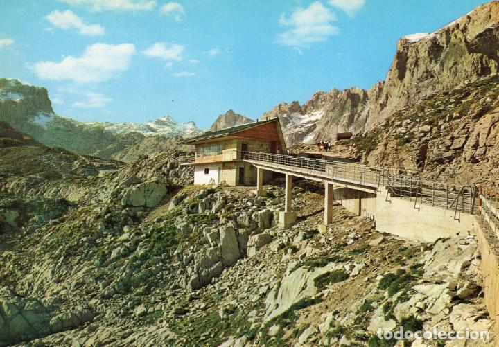 PICOS DE EUROPA (SANTANDER) -REFUGIO- (DIPUTACIÓN PROV.DE SANTANDER Nº 21) SIN CIRCULAR/ P-6544 (Postales - España - Cantabria Moderna (desde 1.940))