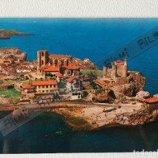 Postales: CANTABRIA, POSTAL DE CASTRO URDIALES, VISTA AEREA, NUMERO 320. Lote 193992130