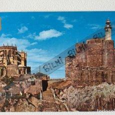 Postales: CANTABRIA, POSTAL DE CASTRO URDIALES, IGLESIA DE SANTA MARIA Y FARO. NUMERO 18. Lote 193992385