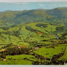 Postales: POSTAL AMPUERO-SANTANDER - SANTUARIO DE LA BIEN APARECIDA. Lote 194006298