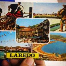 Postales: POSTAL LAREDO SANTANDER DIVERSOS ASPECTOS N 5 DOMÍNGUEZ. Lote 194066433
