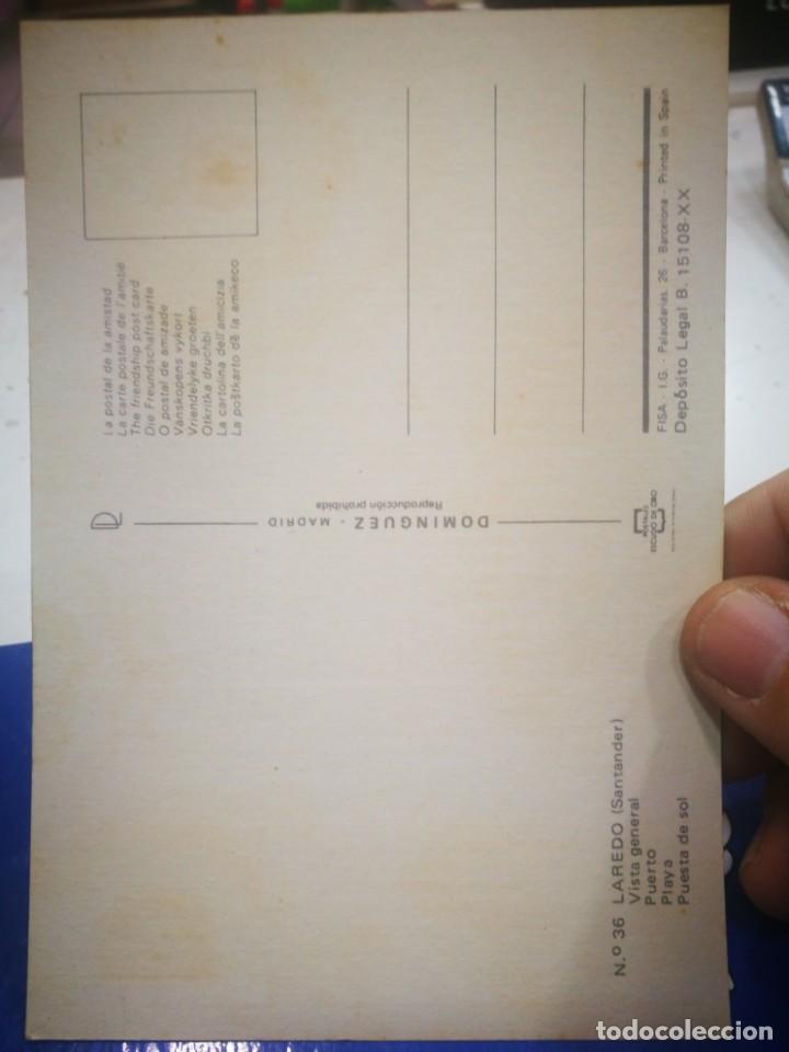 Postales: Postal Laredo Santander Vista general N 36 DOMÍNGUEZ - Foto 2 - 194151131
