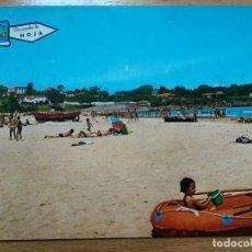 Postales: NOJA (SANTANDER - CANTABRIA) - PLAYA DE TREGANDIN. Lote 194213452