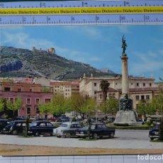 Postales: POSTAL DE JAEN. AÑO 1964. PLAZA Y MONUMENTO DE LAS BATALLAS. COCHES. 4 GARRABELLA. 2718. Lote 194387996