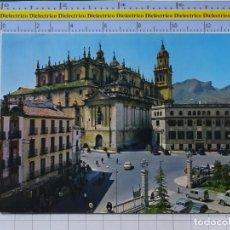 Postales: POSTAL DE JAEN. AÑO 1964. PLAZA DE SAN FRANCISCO CATEDRAL, CORREOS TELÉGRAFOS 9 GARRABELLA. 2719. Lote 194388127