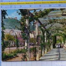 Postales: POSTAL DE JAEN. AÑO 1964. VISTA PARCIAL DEL PARQUE DE LA VICTORIA. 15 GARRABELLA. 2721. Lote 194388585