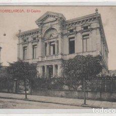 Postales: Nº 6 TORRELAVEGA EL CASINO. CIRCULADA.. Lote 194658310