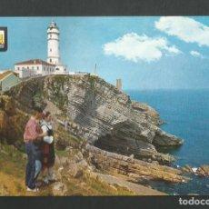 Postales: POSTAL CIRCULADA - SANTANDER 39 - FARO CABO MYOR - EDITA ESCUDO DE ORO. Lote 194699490