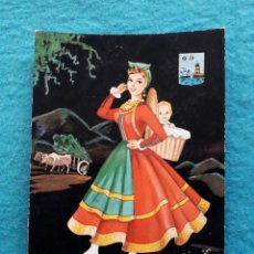 Postales: SANTANDER. TRAJES REGIONALES.. Lote 194756498