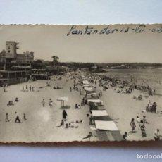 Postales: POSTAL -- SANTANDER - SARDINERO -- CIRCULADA Y NOMBRE Y FECHA EN LA PARTE SUPERIOR -- . Lote 194862878
