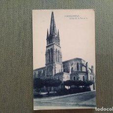 Postales: POSTAL TORRELAVEGA IGLESIA DE LA ASUNCION. Lote 194988580