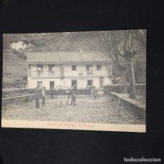 Postales: POSTAL CALDAS DE BESAYA EL TRANSVAAL FOT CASTAÑEIRA ED EMILIA DOMINGUEZ NO ONSCRITA NO CIRCULADA. Lote 195031603